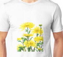 yellow chrysanthemums 2 Unisex T-Shirt