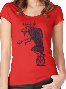 Ritzy Moose Women's Fitted Scoop T-Shirt
