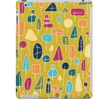 Waldmuster - abstrakt iPad Case/Skin
