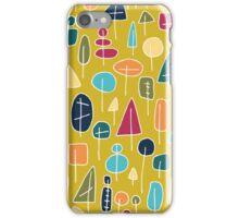 Waldmuster - abstrakt iPhone Case/Skin