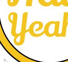 Redskins - Hail Yeah! Sticker