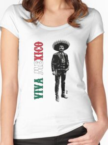 Viva Mexico Women's Fitted Scoop T-Shirt
