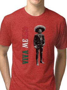 Viva Mexico Tri-blend T-Shirt