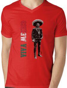 Viva Mexico Mens V-Neck T-Shirt