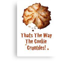 Cookie Canvas Print