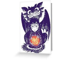 How to Train Your Dragon Halloween Greeting Card