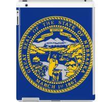 Nebraska State Flag iPad Case/Skin