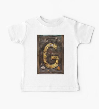 Steampunk - Alphabet - G is for Gears Baby Tee