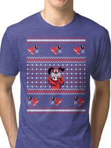 Festive Duck Hunt Tri-blend T-Shirt