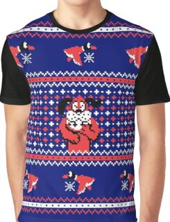 Festive Duck Hunt Graphic T-Shirt