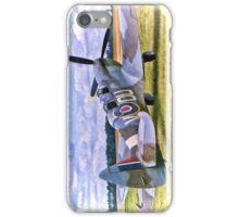 Supermarine Spitfire T9 [ML407] - Portrait iPhone Case/Skin