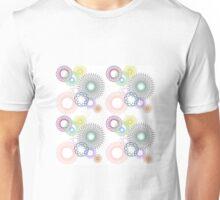 Pretty spirographs Unisex T-Shirt
