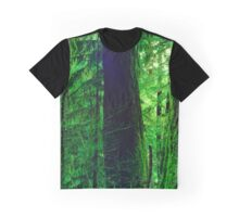 Three Old Growth Trees Graphic T-Shirt