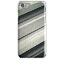 Steely grey iPhone Case/Skin