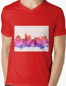 Jerusalem Mens V-Neck T-Shirt