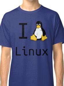 i love linux Classic T-Shirt
