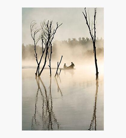 Light flooded delta Photographic Print