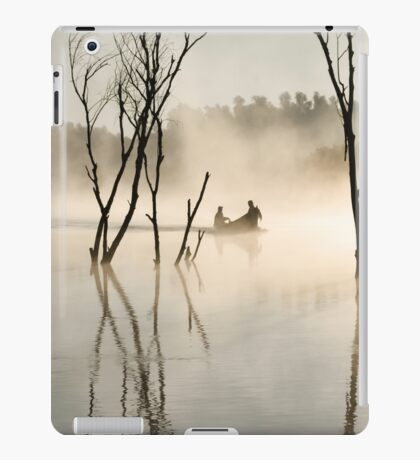 Light flooded delta iPad Case/Skin