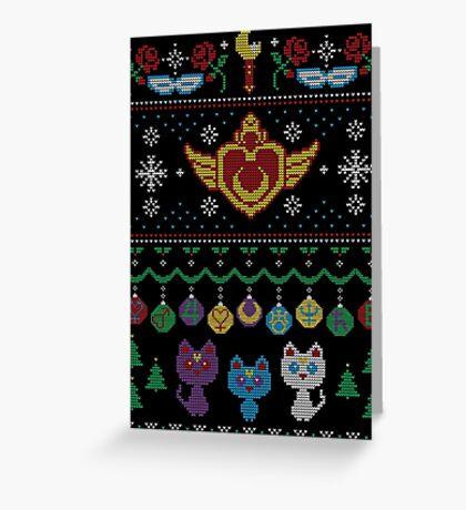 Senshi Sweater Greeting Card