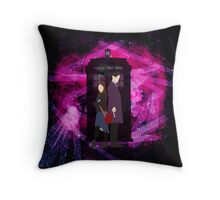 The Impossible Duo Throw Pillow