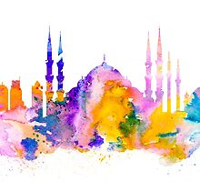 Istanbul by Watercolorsart