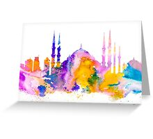 Istanbul Greeting Card