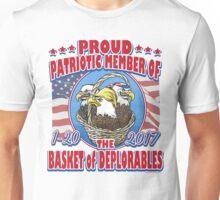 Deplorable Basket of Patriotic Eagles Unisex T-Shirt