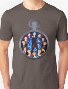 The Clock Strikes Twelve Unisex T-Shirt