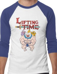 Lifting Time Men's Baseball ¾ T-Shirt