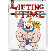 Lifting Time iPad Case/Skin