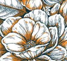 Graphic Summer Flower Bouquet Sticker