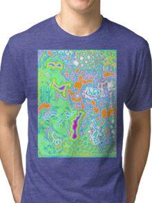 Sherbet Erosion  Tri-blend T-Shirt