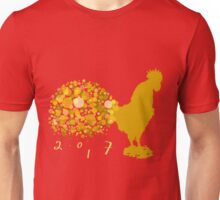 Festive 2017 Chinese Lunar New Year Of The Rooster Unisex T-Shirt