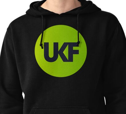 UKF Drum And Bass Pullover Hoodie