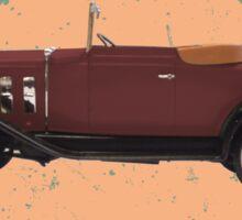 Vintage Wheels: Chevy Roadster Sticker