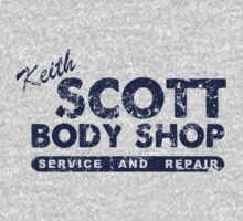 Keith Scott Body Shop Logo T-Shirt