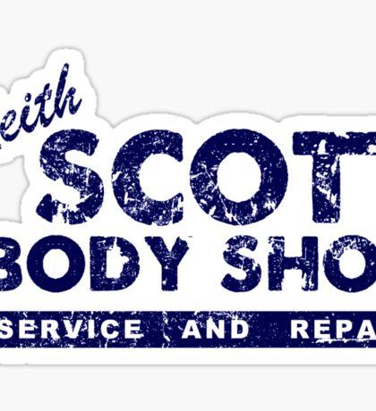Keith Scott Body Shop Logo Sticker