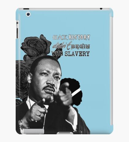 Martin Luther King Junior  iPad Case/Skin