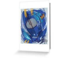 Sentinel Prime's chin (abstract) By Bulkhead. Greeting Card