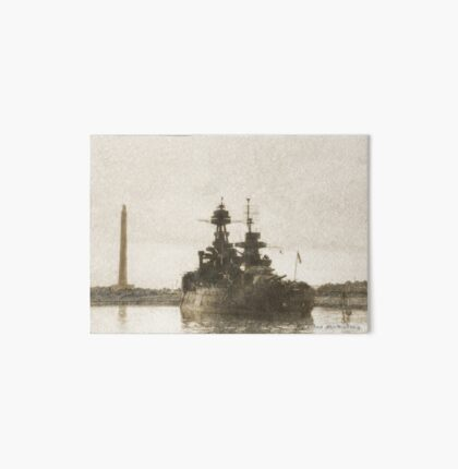 Historic Battleship Texas at San Jacinto Art Board