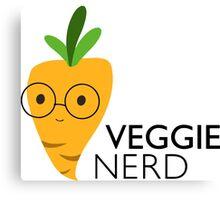 Veggie Nerd Canvas Print
