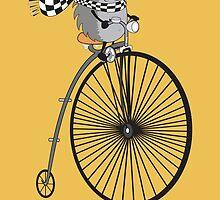 old school biker by mangulica