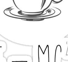 Energy = Milk x Coffee Sticker