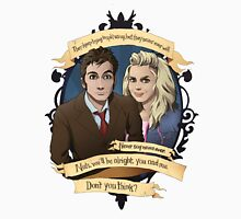 Rose and the 10th Doctor - Doctor Who Unisex T-Shirt