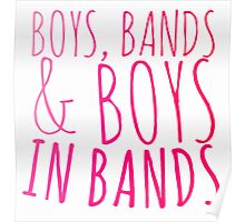 Boys in Bands Poster