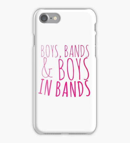 Boys in Bands iPhone Case/Skin