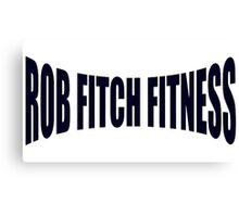 Rob Fitch Canvas Print