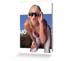 GTA SA Vinewood Girl REAL Greeting Card