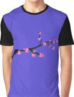 Sakura blossom (in purple) Graphic T-Shirt