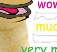 Much Wow Pepe/Doge - Meme Sticker